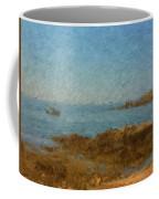 Boothbay Calm Day Ocean View Coffee Mug
