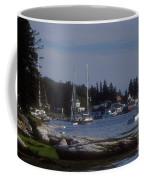 Boothbay Harbor In Maine Coffee Mug
