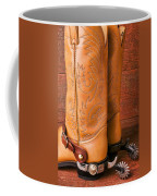 Boots With Spurs Coffee Mug