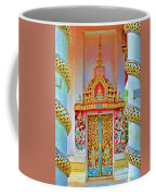 Bophut Temple In Thailand Coffee Mug