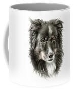 Border Collie Portrait Coffee Mug