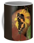 Bordered Patch Coffee Mug