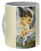 Boreas And Oreithyia Coffee Mug by Evelyn De Morgan