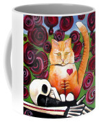 Boris And Me Coffee Mug by Delight Worthyn