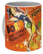 Born To Dance 1936 Retro Movie Poster Coffee Mug