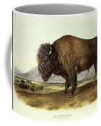 Bos Americanus, American Bison Coffee Mug
