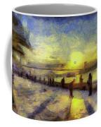 Bosphorus Sunset Art Coffee Mug