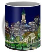 Boston Above Christopher Columbus Park Coffee Mug