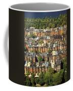 Boston Brownstone Architecture Coffee Mug
