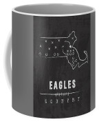 Boston College Eagles / Ncaa College Football Art / Chestnut Hill Massachusetts Coffee Mug by Damon Gray