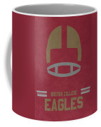 Boston College Eagles Vintage Football Art Coffee Mug