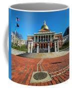 Boston Freedom Trail To State House Boston Ma Coffee Mug