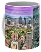 Boston From Above Coffee Mug