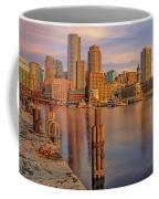 Boston Habor Sunrise Coffee Mug