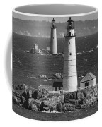 Boston Light With Graves Light Coffee Mug