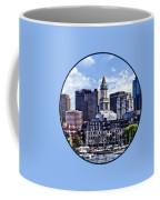 Boston Ma - Skyline With Custom House Tower Coffee Mug
