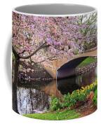 Boston Ma Spring Tree On The Charles River Esplanade Boston Ma Coffee Mug