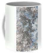Boston Map, 1903 Coffee Mug