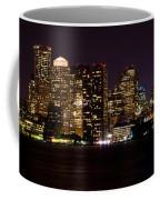 Boston Massachusetts - Panoramic Coffee Mug