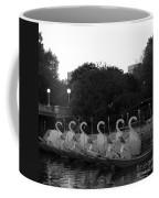 Boston Public Garden Swan Boats Coffee Mug