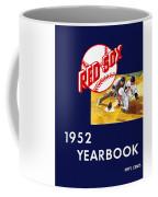 Boston Red Sox 1952 Yearbook Coffee Mug
