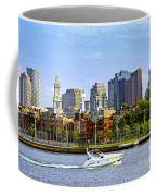 Boston Skyline Coffee Mug by Elena Elisseeva