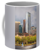 Boston Skyline Skyscraper Boston Ma Charles River Coffee Mug