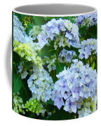 Botanical Art Prints Floral Hydrangea Flower Garden Baslee Coffee Mug