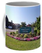 Botanical Gardens Floral Landscaped Entrance  Coffee Mug