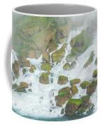 Bottom Of American Niagara Falls Coffee Mug