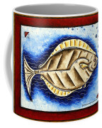Bottom Of The Sea Creature Original Madart Painting Coffee Mug