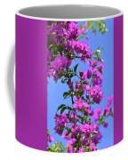 Bougainvillea And Sky Coffee Mug