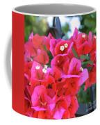 Bougainvillea Square Coffee Mug