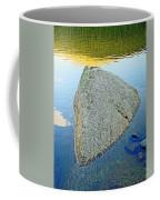 Boulder At Echo Lake Coffee Mug