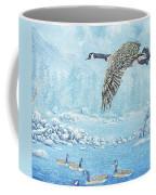 Boulder Bay Geese Coffee Mug