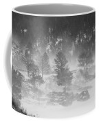 Boulder Canyon And Nederland Winter Landscape Coffee Mug