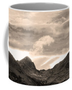 Boulder County Indian Peaks Sepia Image Coffee Mug by James BO  Insogna