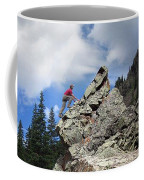 Bouldering On The Flint Creek Trail - Weminuche Wilderness Coffee Mug