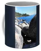 Boulders On Lake Tahoe Coffee Mug