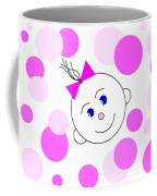 Bouncing Baby Girl Coffee Mug