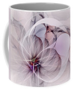 Bound Away - Fractal Art Coffee Mug
