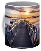 Bountiful Lake Pier Coffee Mug