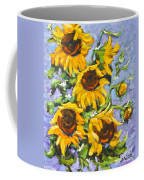 Bouquet Del Sol Sunflowers Coffee Mug