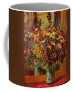 Bouquet In Front Of A Mirror 1877 Coffee Mug