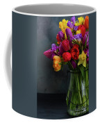 Spring Flowers In Vase Coffee Mug