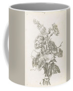 Bouquet Of Different Flowers, Jacques Bailly I, Ca. 1670 , Coffee Mug