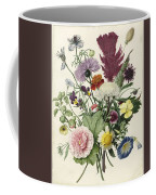Bouquet Of Flowers, Anonymous, 1680 Coffee Mug