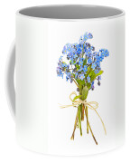 Bouquet Of Forget-me-nots Coffee Mug