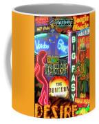 Bourbon Street Neon Coffee Mug