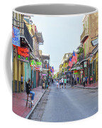 Bourbon Street - New Orleans Louisianna Coffee Mug